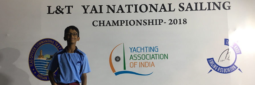 School- Yachting- Sree Ved Soma