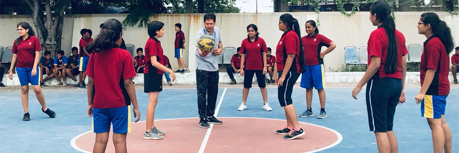 Residential Wing Intra-Group Basketball Competition