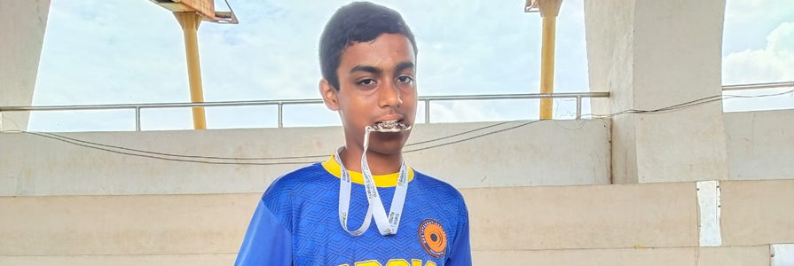 Secondary Wing: Student Achievement RFYS Athletics Hyderabad Championship 2019-20